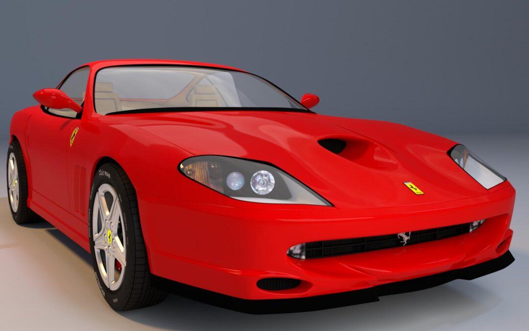 Ferrari en 3D