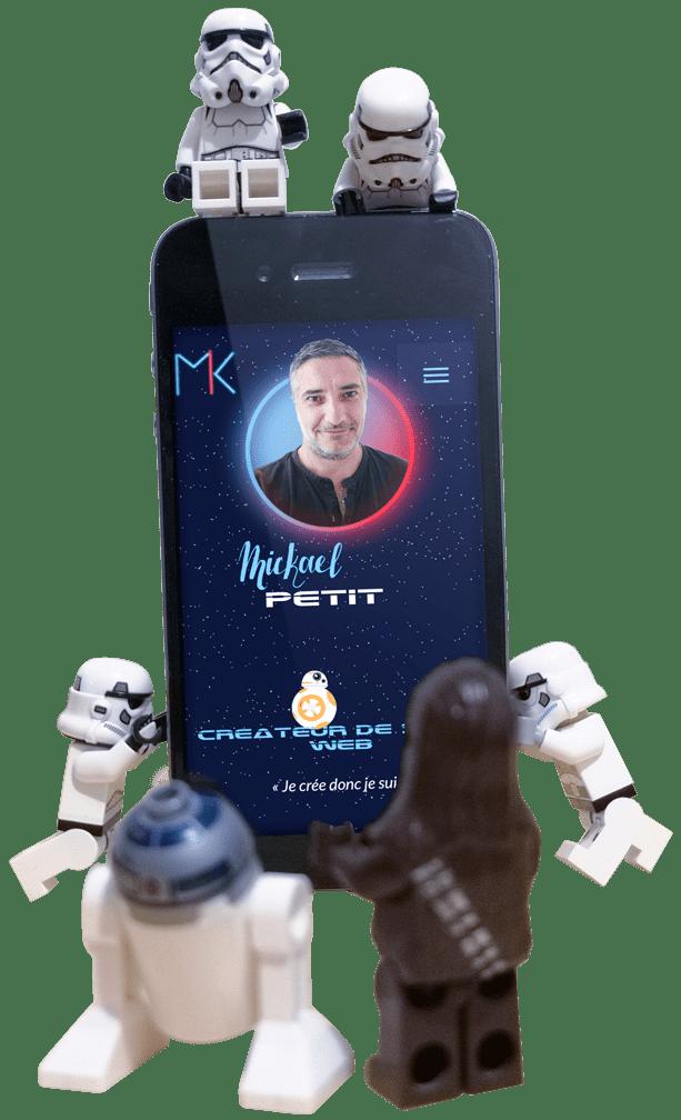 Contactez Mickaël Petit pour la création de votre site internet responsive