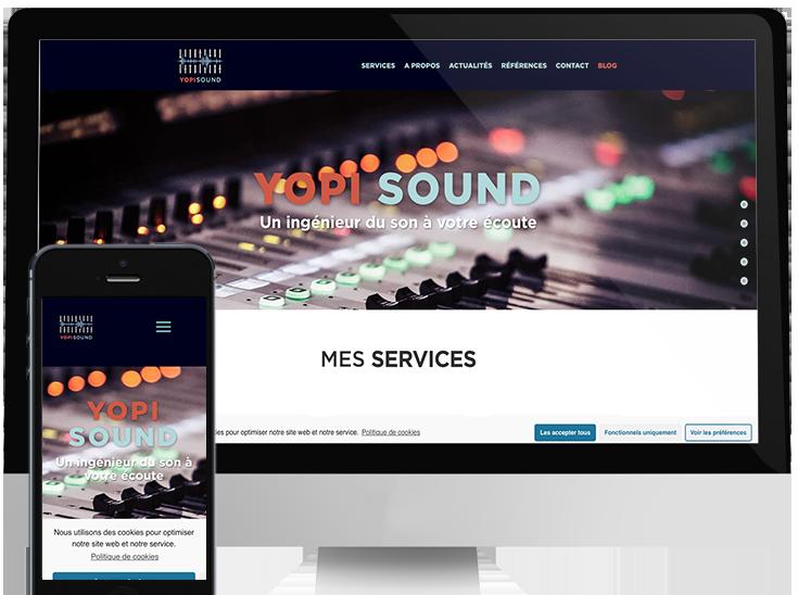 Mickaël Petit est un créateur de sites web responsive professionnel