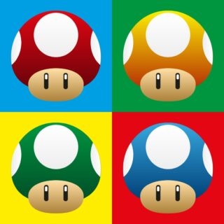Création du jour : Mario Warhol  #artoftheday #webdesigner #artwork #illustrator #adobe #adobeillustrator #drawing #funnydrawing #artoninstagram #andywarhol #andywarholart #champignons #mushrooms #mariobros #funny #creation #motiondesign #artvisual #graphism #cartoon #videogames #painting #funnyart #mario #nintendo #popart #popartstyle #warhol #vectorart #digitalart