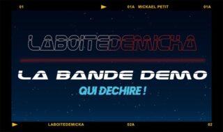 The laboitedemicka's showreel is on lign ! Here we go : https://www.laboitedemicka.fr/la-bande-demo/