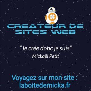 Visit my new website! laboitedemicka.fr #website #site #siteinternet #internet #web #webdesigner #creation #followme #newcreation #https #work #job #france #starwars #starweb #repost