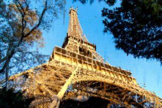 Paris, dreaming bigger!  #photoshop #painting #toureiffel #france🇫🇷 #france #pictureoftheday #paintingoftheday #adobe #graphist #repost #art #visualart  #beautiful